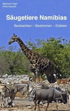 Säugetiere Namibias - Föger, Manfred; Kuprian, Anita