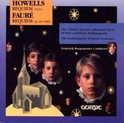 Requiems Of Howells & Fauré