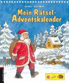 Mein Rätsel-Adventskalender - Moritz, Silke; Ahlgrimm, Achim