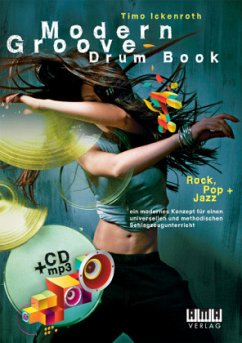 Modern Groove - Drum Book, m. MP3-CD - Ickenroth, Timo