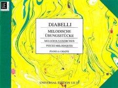 Melodische Übungsstücke op. 149, für Klavier zu 4 Händen - Diabelli, Anton