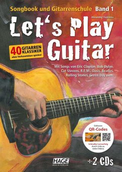 Let's Play Guitar, m. DVD u. 2 Audio-CDs - Espinosa, Alexander
