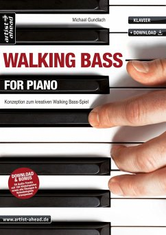 Walking Bass for Piano, m. Audio-CD