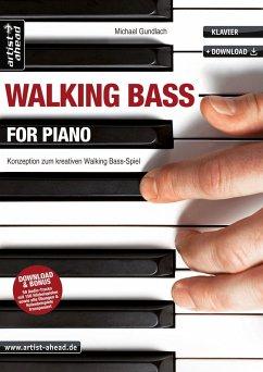 Walking Bass for Piano - Gundlach, Michael