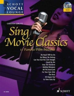 Sing Movie Classics, Gesang und Klavier, m. Aud...
