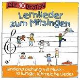 Die 30 besten Lernlieder zum Mitsingen, 1 Audio-CD