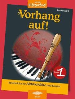 Vorhang auf, Altblockflöte und Klavier