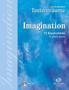 Imagination, für Klavier, m. Audio-CD - Terzibaschitsch, Anne
