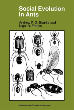 Social Evolution in Ants - Bourke, Andrew F. G. Franks, Nigel R.