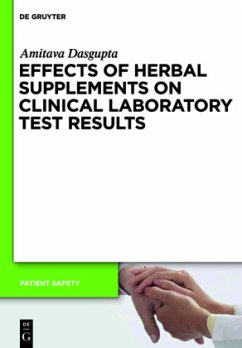 Effects of Herbal Supplements on Clinical Laboratory Test Results - Dasgupta, Amitava