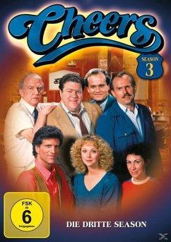 Cheers - 3. Staffel DVD-Box - Shelley Long,Woody Harrelson,Rhea Perlman