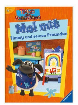 Mal mit Timmy und seinen Freunden ; Timmy das Schäfchen ; Deutsch; , durchg. schw.-w. Ill. - - Diverse