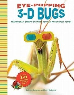 Eye-Popping 3-D Bugs: Phantogram Bugs You Can Practically Touch! [With 2 Pair 3-D Glasses] - Rothstein, Barry; Rothstein, Betsy