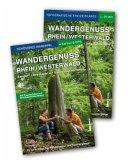 Wandergenuss Rhein/Westerwald, Buch und Karte