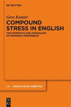 Compound Stress in English - Kunter, Gero