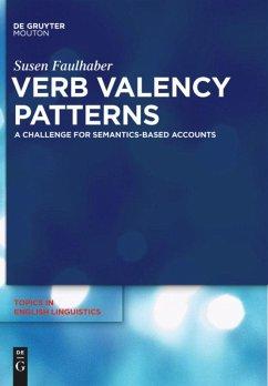 Verb Valency Patterns - Faulhaber, Susen