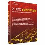 2.000 Schriften (Download für Windows)
