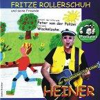 Fritze Rollerschuh und seine Freunde, Audio-CD