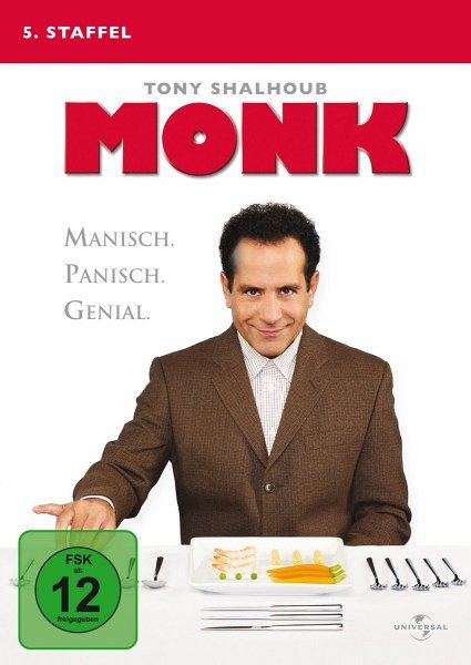 Monk - 5. Staffel (4 Discs) - Tony Shalhoub,Traylor Howard,Ted Levine