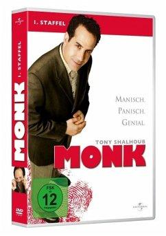 Monk - Season 1 DVD-Box - Tony Shalhoub,Bitty Schram,Ted Levine