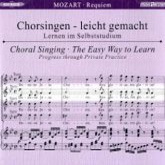 Requiem, KV 626, Chorstimme Alt, 1 Audio-CD