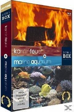 kaminfeuer marine aquarium 2 discs film auf blu ray disc. Black Bedroom Furniture Sets. Home Design Ideas