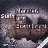One Song Ed.Marmor,Stein & Eund Eisen Bricht.