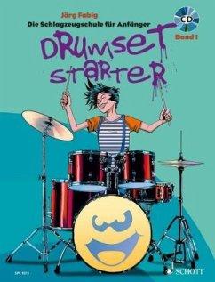 Drumset Starter, m. Audio-CD - Fabig, Jörg