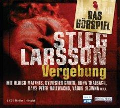 Vergebung / Millennium Bd.3 (3 Audio-CDs) - Larsson, Stieg