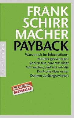 Payback - Schirrmacher, Frank