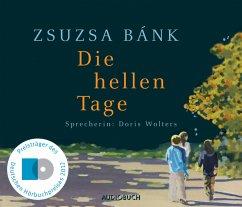 Die hellen Tage, 6 Audio-CDs - Bánk, Zsuzsa