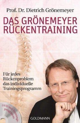 Das Grönemeyer Rückentraining - Grönemeyer, Dietrich H. W.