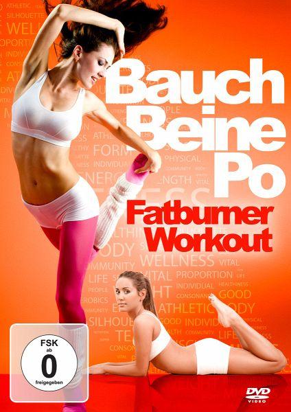 bauch beine po fatburner workout auf dvd portofrei bei b. Black Bedroom Furniture Sets. Home Design Ideas