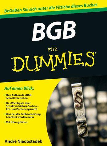 BGB für Dummies - André Niedostadek