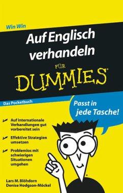 Auf Englisch verhandeln für Dummies Das Pocketbuch - Blöhdorn, Lars M.; Hodgson-Möckel, Denise
