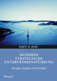 Moderne strategische Unternehmensführung