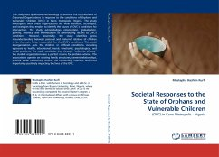 Societal Responses to the State of Orphans and Vulnerable Children