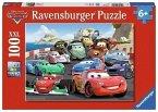 Ravensburger 106158 - Disney Cars-Brisantes Rennen