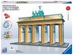 Ravensburger 12551 - Brandenburger Tor-Berlin, 324 Teile 3D Puzzle-Bauwerke
