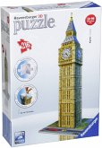 Ravensburger 12554 - Big Ben 3D Puzzle, 215 Teile