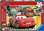 Ravensburger 09169 - Disney Cars 2: Neue Abenteuer, 2 x 20 Teile Puzzle