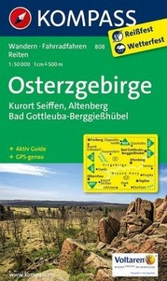 Kompass Karte Osterzgebirge