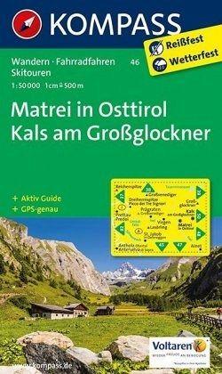Großglockner Karte.Kompass Karte Matrei In Osttirol Kals Am Großglockner