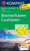 Kompass Karte Bremerhaven, Cuxhaven
