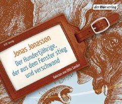Der Hundertjährige, der aus dem Fenster stieg und verschwand, 6 Audio-CDs - Jonasson, Jonas