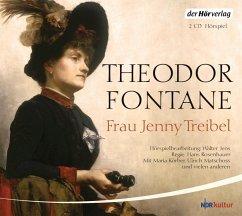 Frau Jenny Treibel, 2 Audio-CDs - Fontane, Theodor
