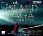 Die Island-Saga vom weisen Njál, 4 Audio-CDs