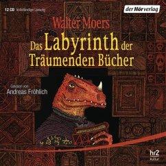 Das Labyrinth der Träumenden Bücher / Zamonien Bd.6 (15 Audio-CDs) - Moers, Walter