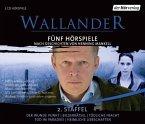Wallander. Fünf Hörspiele, 5 Audio-CDs (Wallander Box 2)