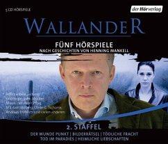 Wallander. Fünf Hörspiele, 5 Audio-CDs (Wallander Box 2) - Mankell, Henning